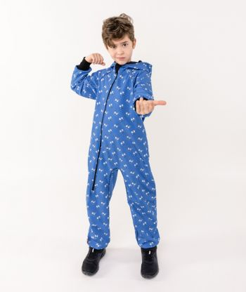 Waterproof Softshell Overall Comfy Smiles Jumpsuit