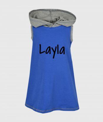 Everyday Cosy Blue/Grey Dress