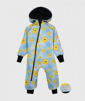 Waterproof Softshell Overall Comfy Friendly Sun Jumpsuit