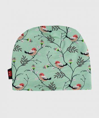 Baggy Hat Little Birds Mint