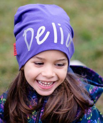 Baggy Hat Reflex Purple
