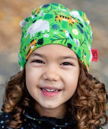 Baggy Hat Jungle Animals