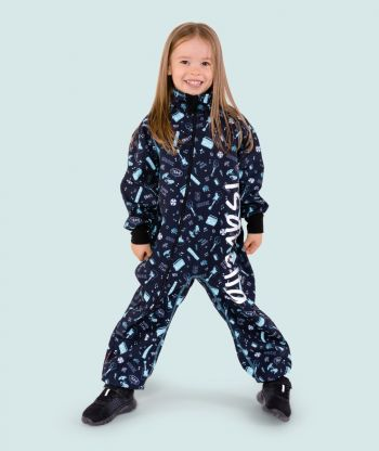 Waterproof Softshell Overall Comfy Music Bodysuit