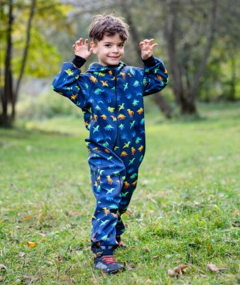 Waterproof Softshell Overall Comfy Jurassic Park Jumpsuit