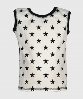 Tank Top Stars Black