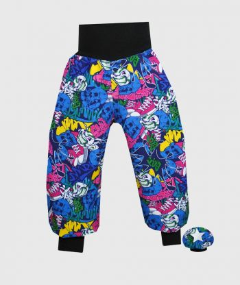 Waterproof Softshell Pants Scary Clowns